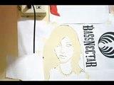 Video saori hara stencil [by.Kho]