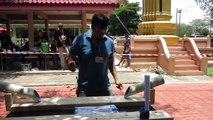 Une compétition de couteau en Thaïlande... Knife contest