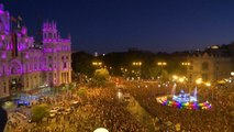 World Pride parade in Madrid parties for LGBT rights