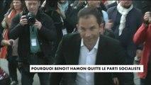 Benoît Hamon quitte le Parti socialiste - Politique