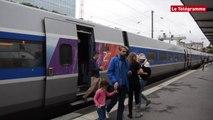 Rennes. LGV : arrivée des premiers passagers