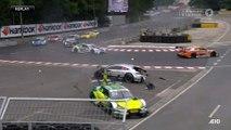 Dtm 2017 Norisring Race 2 Paffet Rockenfeller Huge Crash