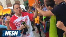 Joey Chestnut Celebrates America By Eating 72 Hot Dogs