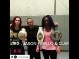 MMA vs Boxing Cyborg Sparring Clarissa Shields - esnews boxing