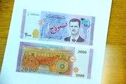 Esad'ın Fotoğrafının Basıldığı Suriye Paraları Piyasaya Sürüldü
