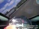 Chute moto sur circuit