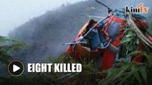 Eight rescue workers killed in Indo heli crash