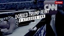 Trump attaque CNN dans un montage vidéo