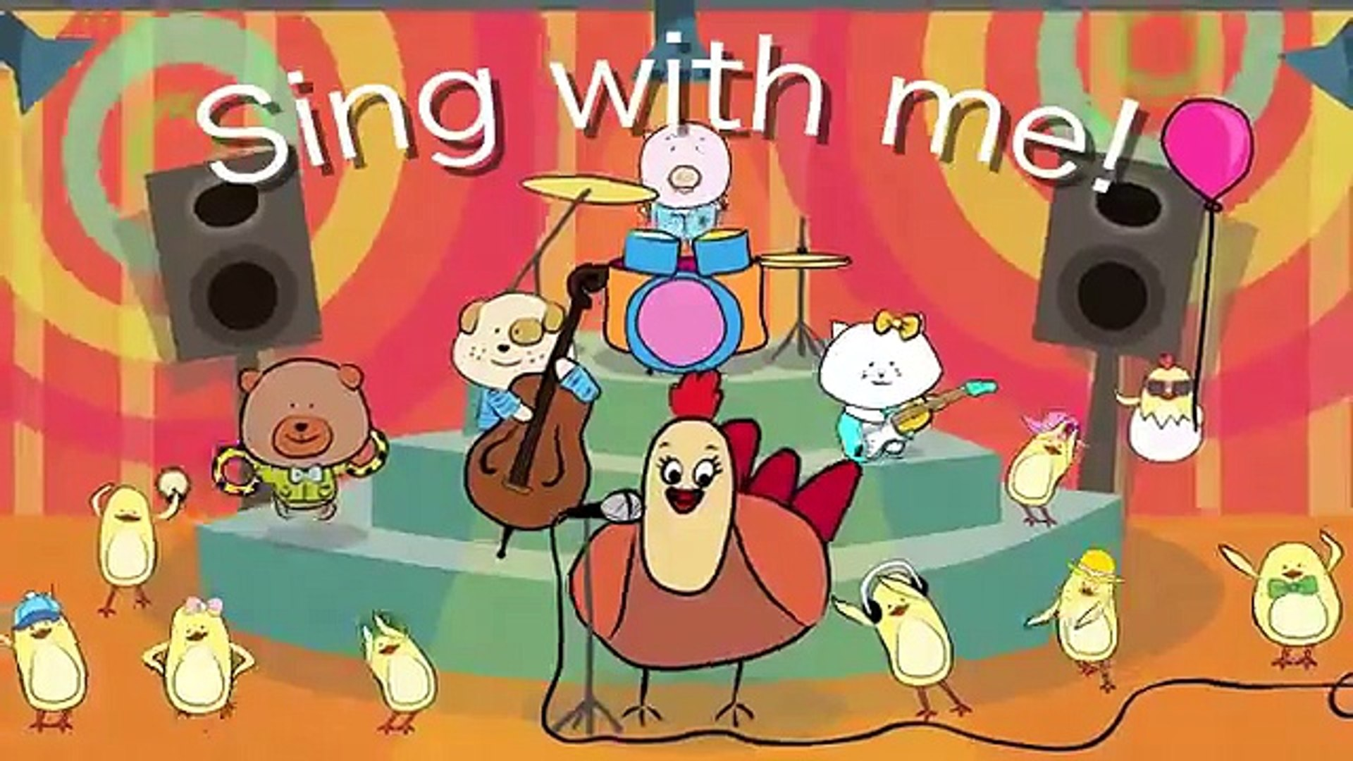 Action Songs for kids - The Singing Walrus