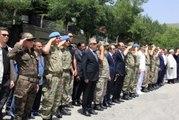 Hakkari Çukurca' da Şehit Olan Uzman Çavuş Oğuzhan Sezer Için Tören Düzenlendi-2
