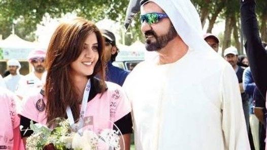 Sheikh of dubai Daughter's wedding Cake    - video dailymotion
