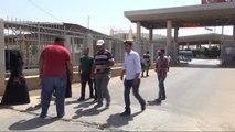 Hatay Bayramlaşmaya Giden Suriyeliler Dönüyor
