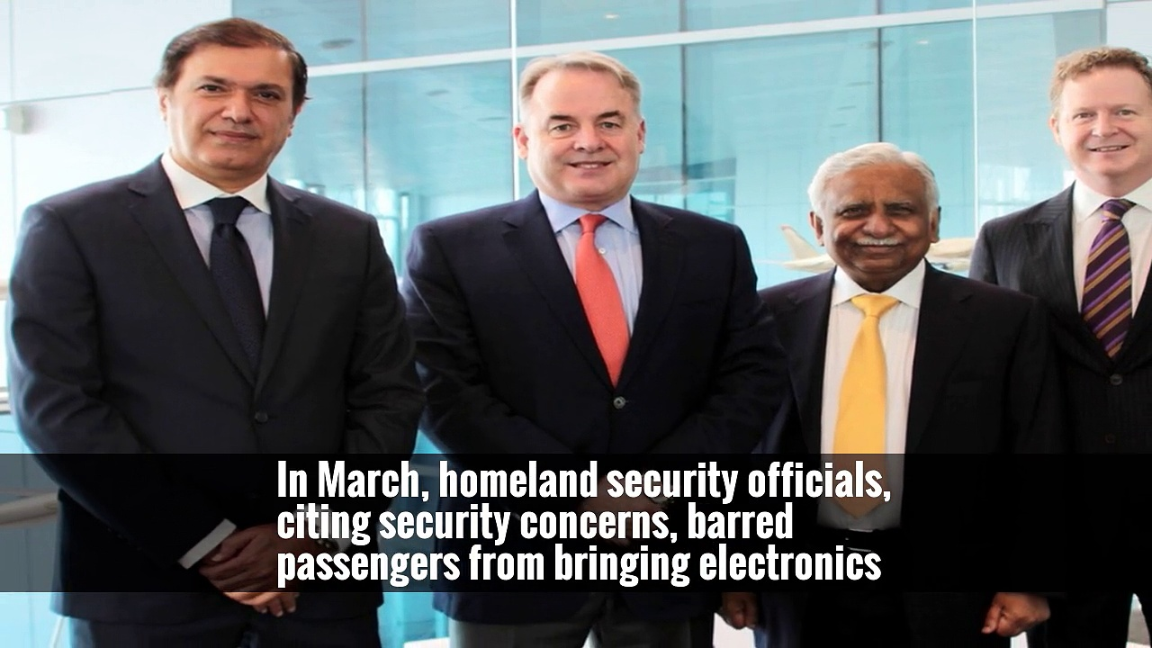 U.S. to Allow Laptops Aboard Etihad Flights After Airline Tightens Security
