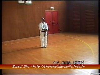 Bassai sho - Shotokai - Sensei Hagopian