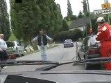 Caméra Embarquée 205 Rallye Course De Côte Les Andelys