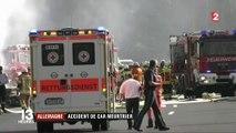Allemagne : accident de car meurtrier