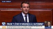 Macron à Versailles: la seule blague de son discours est tombée à l'eau
