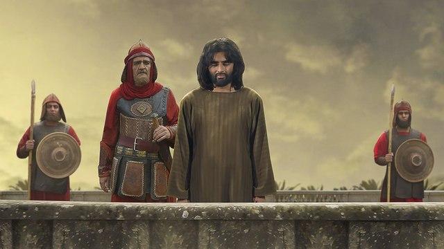 Martyrdom (Shahadat) of Hazrat Muslim Bin Aqeel (as) in Koofa | Clip from Mukhtar Nama Film.