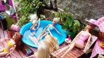 Hermoso la Sí n / A novela piscina Barbie partido capítulo 5