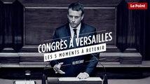 Congrès à Versailles : les 5 moments à retenir