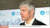 Laurent Wauquiez fait le bilan de 18 mois de mandat