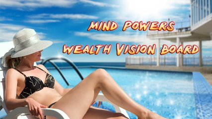 Mind Powers - Wealth Vision Board Demo