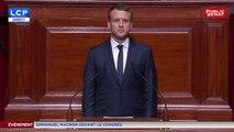 ÉVÉNEMENT - Emmanuel Macron devant le Congrès à Versailles