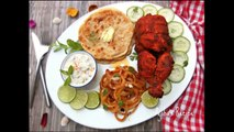 চিকেন তান্দুরি    চুলায় তৈরি তন্দুরি চিকেন    Whole Chicken Tandoori without oven