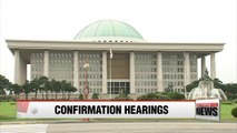 National Assembly holds hearings for three nominees on Tuesday