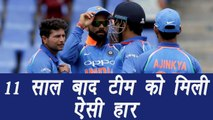 India VS West Indies: Since 2006 it's 2017 when India lost match so badly । वनइंडिया हिंदी
