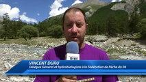 Alpes de Haute-Provence : session de pêche électrique à Saint-Paul-sur-Ubaye