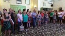 Alpes de Haute-Provence : départ à la retraite de deux enseignantes du groupe scolaire Edouard De Laplane à Sisteron