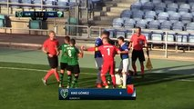 Kike Gomez & Alex Quillo (Red Card) HD - Europa 1-2 The New Saints 03.07.2017 HD