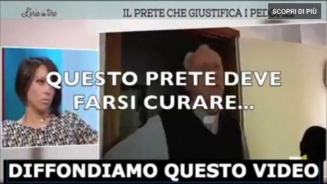 Intervista al prete che giustifica i pedofili