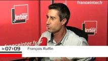 """François Ruffin sur Macron : """"Quand on est passé par Sciences Po, l'ENA, la banque Rothschild, l'Elysée, le contact avec le réel est pour le moins assez lointain."""""""