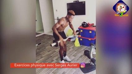 EXERCICES PHYSIQUE AVEC SERGES AURIER