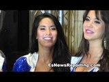 floyd mayweather vs canelo alvarez ring girls popular at the mgm - EsNews Boxing