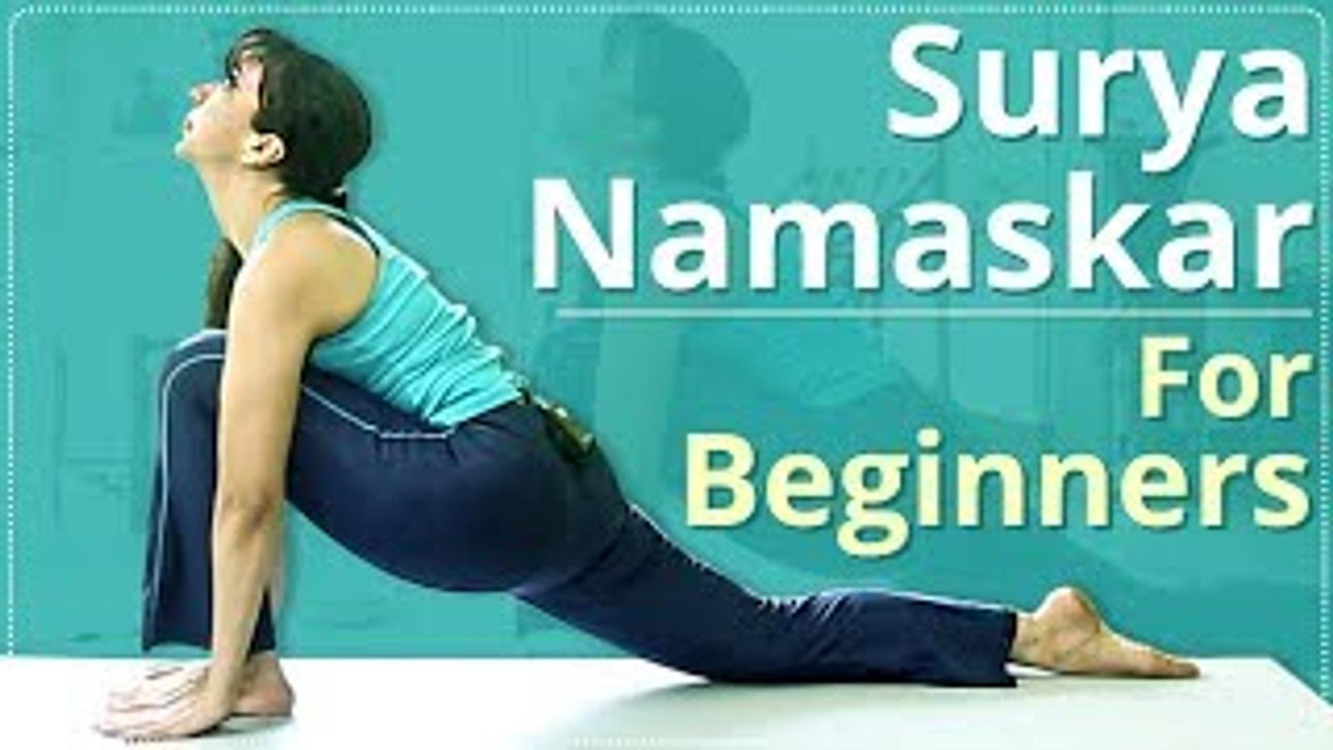 Surya Namaskar Poses Video