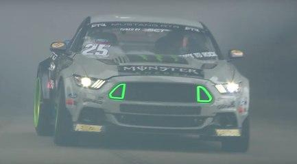 VÍDEO: Humo, humo y más humo. Drift a lo bestia en Goowood