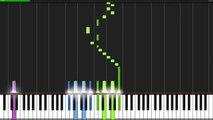 Et ré dans mineur plancher tutoriel Bach toccata fugue synthesia