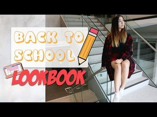Back to School Lookbook   4 Different Outfits Inspiration!