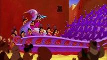 """Aladdin (1992) : extrait du film Aladdin, arrivée à Aghrabah sur la chanson """"Prince Ali"""""""