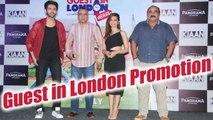 Paresh Rawal, Kartik Aryan, Kirti Kharbanda at Guest in London promotion; Watch Video | FilmiBeat