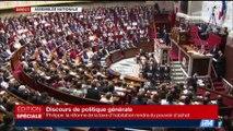Le discours de politique générale d'Édouard Philippe à l'Assemblée nationale