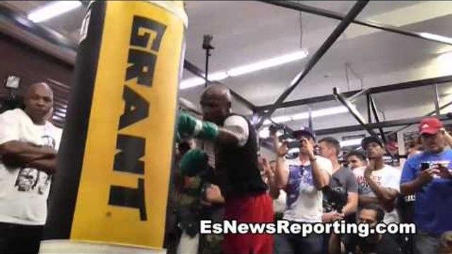 roger mayweather de la hoya vs floyd was better fight than floyd vs canelo - EsNews Boxing