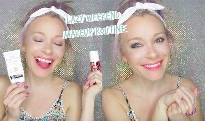 Lazy Weekend Makeup Routine | MissYarmosh