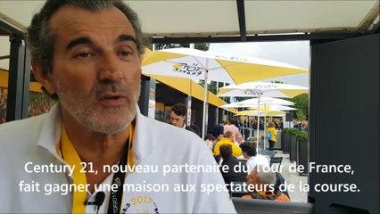 Laurent Vimont, président de Century 21, partenaire du Tour de France