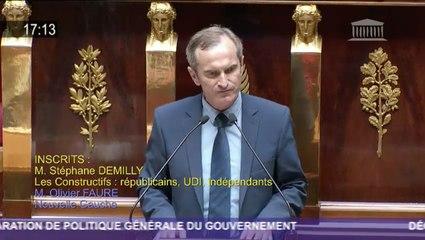 Réponse à la déclaration de politique générale d'Edouard Philippe • Stéphane Demilly • 4 juillet 2017