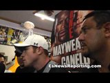 Canelo Alvarez Those who face me underestimate me until they are in the ring - EsNews Boxing
