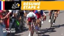 Résumé - Étape 4 - Tour de France 2017